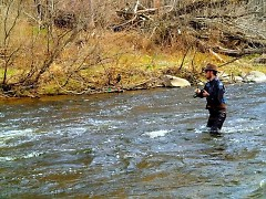 Conserving, protecting and restoring coldwater streams benefit Michigan fishing.