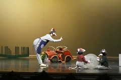 Our youngest dancers performing as mice.