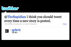 The tweet heard 'round The Rapidian office
