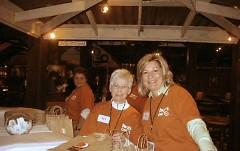Three of many volunteers.