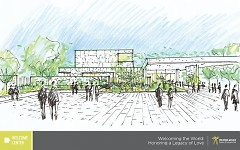 New 60,000 sq. foot LEED-certified Welcome Center