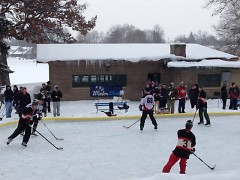 3 on 3 Hockey Tournament underway at Richmond Park