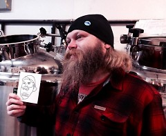 Want to see Wob shave his beard? Stop by the Mitten Brewery Co. to help raise funds for Safe Haven Ministries