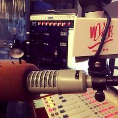 WYCE recording studio