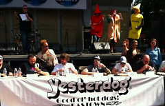 2013 Street Fair hot dog eating competition