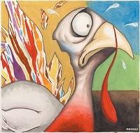 Concerned turkey