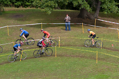 Cyclocross makes good use of small spaces