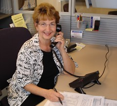 Arlene Hicks helps ensure cancer patients get the rides they need to and from cancer treatments.