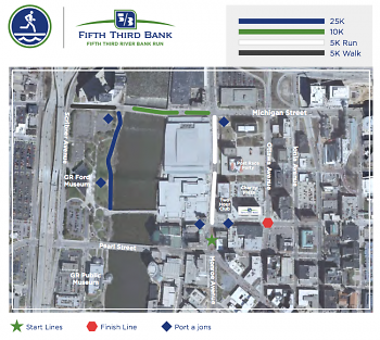 Staging Area Map