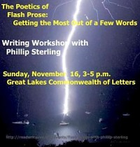 Fiction Workshop with Phillip Sterling