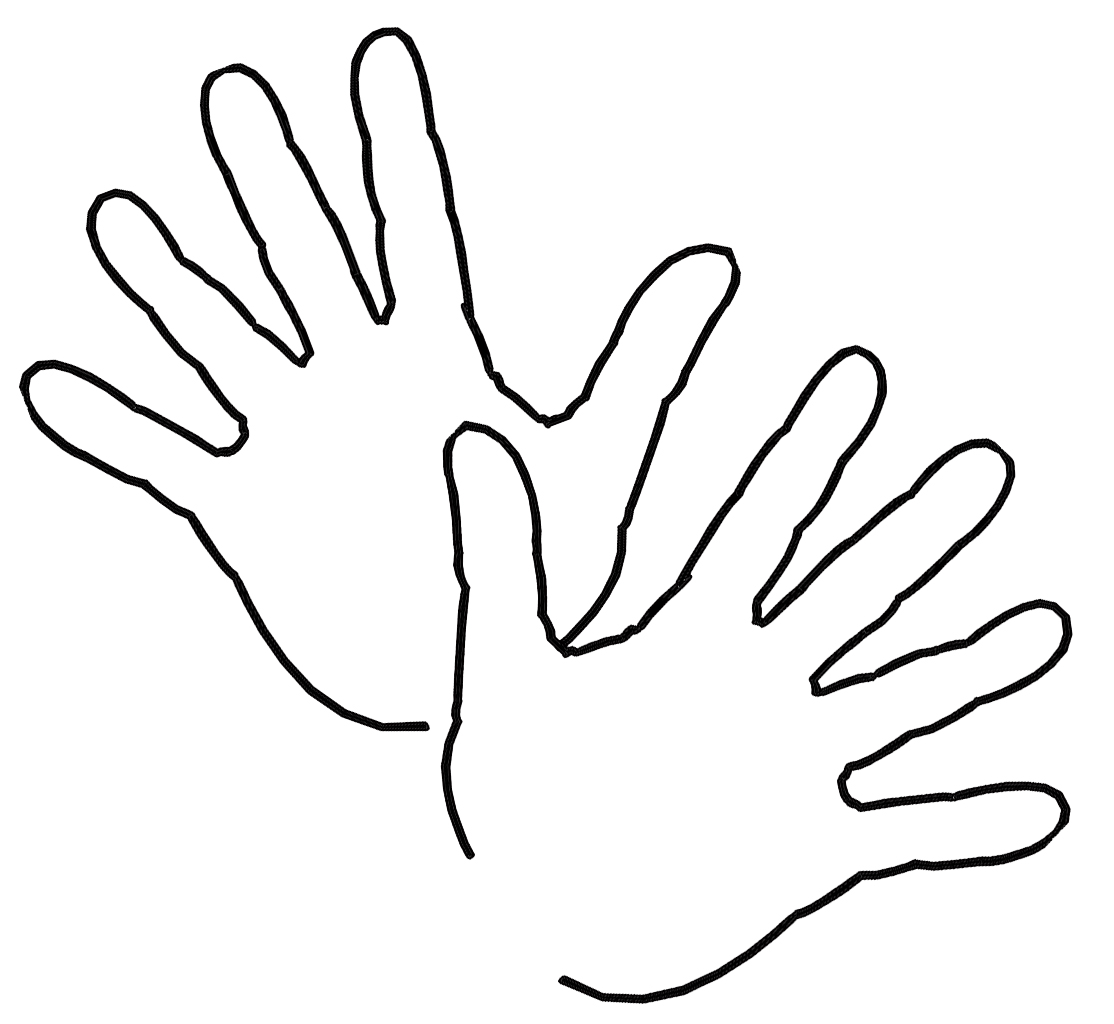 hands coloring pages - photo#5